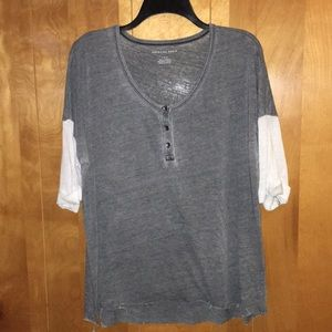 American Eagle quarter sleeve long shirt